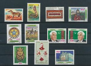 LO43832 Turkmenistan mixed thematics nice lot of good stamps MNH