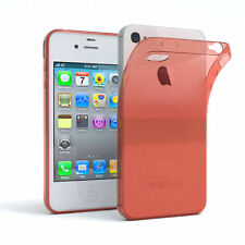 Ultra SLIM cover para Apple iPhone 4/4s Funda TPU de silicona funda orange