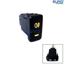 OE Style 12V Push 4-Pole Fog Button Switch w/Orange LED Indicators for Toyota