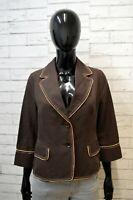 ALVIERO MARTINI Donna Taglia M Giacca Jacket Woman Blazer in Misto Cotone e Lino