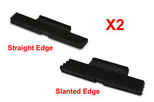2PCS Extended Slide Lock Release Black for Glock 17 19 20 21 23 & more (005/089)