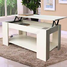 Mesas de centro color principal blanco para el dormitorio