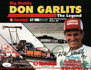 Don Garlits Signed Autographed 8X10 Photo Big Daddy Drag Racer JSA II59161