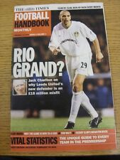 13/01/2001 The Times: Football Handbook Monthly - Issue 04 Volume 01 - Leeds Uni