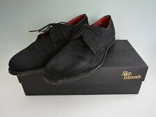 Allen Edmonds Spencer Oxford Shoes Black Size 10D Corduroy Fabric