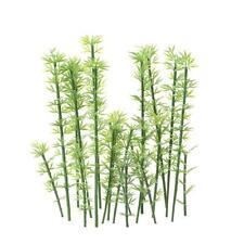 Kids Toy 100 Pcs Green Plastic Model Bamboo Trees Scale 1:75-1:300 Garden Q3Q2