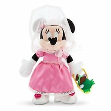 """Disney Store Authentic Minnie Mouse Easter Plush Doll 12"""" Girls Toy NWT"""