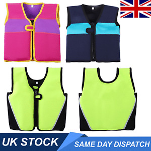 UK Kids Swim Float Vest Swimming Pool Aid Baby Life Jacket Suits Water Sports