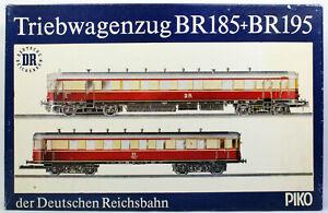 H0 Piko Triebwagenzug VT185 + VS195 DR Ep.3 OVP