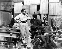 8x10 Print Director Orson Welles Citizen Kane Set Candid 1941 #OW15