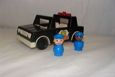 Fisher Price Police Car and two police officers