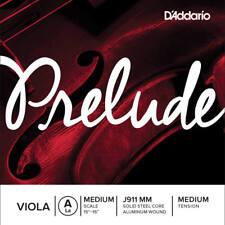 D'addario Prelude Viola Single A String, Long Scale, Medium Tension