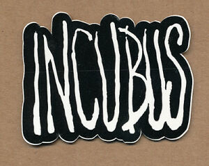 Incubus A Crow Left of the Murder... RARE promo sticker 2004