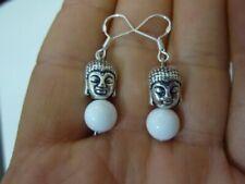 Boucles d'oreilles fantaisie en perle en argent sterling