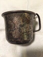 P. S. CO. STERLING SILVER HANDLED CHILDS CUP/MUG  58 grams