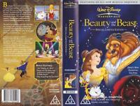 BEAUTY AND THE BEAST WALT DISNEY VIDEO PAL VHS A RARE FIND~MINT SEALED