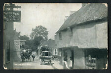 Posted 1908: Horse Drawn Carriages & People, Herne, Kent