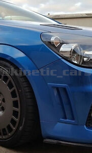 Vauxhall opel Bumper vents Gloss black finish Astra , vectra , Zafira, inc VXR