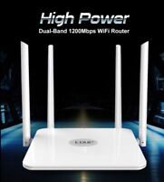 CONNEX- 1200mbps Wlan WiFi Router- Wireless 802.11ac-5ghz high power range