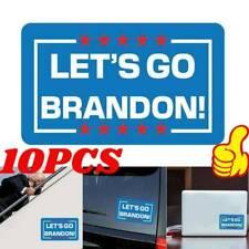 10pcs Let's Go Brandon Sticker Car Truck Bumper Vinyl Decal 2022