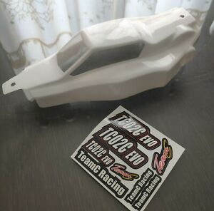 Good condition TeamC Ansmann Racing TB201C Body PC cut & painted TC02C EVO X2C