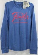 Lucky Brand Fender Nation Fine Electric Instruments Guitar Thermal Tee/Sweater