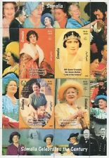 HM QUEEN ELIZABETH QUEEN MOTHER LADY OF THE CENTURY 1999 MNH STAMP SHEETLET