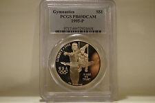 1995-P Olympic Gymnast Commem Silver Dollar - PR-69 DCAM PCGS