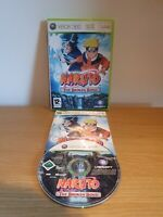 Naruto the Broken Bond Boxed & Complete Xbox 360 Tested & Working Free Fast P&P