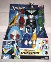 """Voltron 12"""" Action Figure Legendary Lion Defender Cannon &Shield Netflix Toy NEW"""