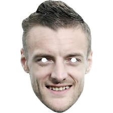 Jamie Vardy Football World Cup Card Celebrity Mask. All Our Masks Are Pre-Cut
