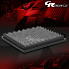 SILVER WASHABLE HIGH FLOW AIR FILTER FOR 12-17 TOYOTA CAMRY AVALON 11-16 SIENNA