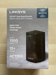 Brand New Sealed Linksys VELOP Dual-Band Router Whole Home WIFI 5 System AC1200