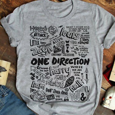 One Direction Best Songs Ever Men T Shirt Cotton S-5XL Sport Grey