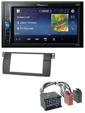 Pioneer 2DIN MP3 USB AUX Autoradio für BMW 3er E46 mit großem Navi Rundpin Profi