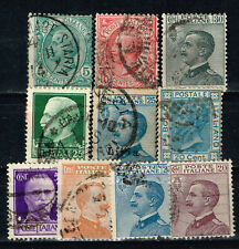 Italy King Victor Emmanuil III long reign 46 years stamps 1910s