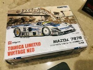 TOMICA LIMITED VINTAGE NEO 1/64 MAZDA 787B White 1991 24hrs #18, new, Rare