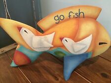 NATURE'S CANVAS FISH BY ARTIST KATE HOLMES OF ARTISAN FLAIR, INC