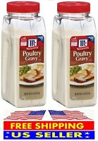 McCormick Poultry Gravy Mix 18 oz.  2-Pack TOTAL 36 oz FREE SHIPPING