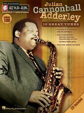 Julian Cannonball Adderley Jazz Play Along Book and CD NEW 000843201