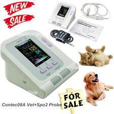 CONTEC08VET Veterinary Digital Blood Pressure Monitor,6-11cm Cuff,Vet Spo2 Probe
