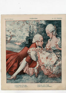 ORIGINAL La Vie Parisienne Illustration: Erotica, Glamour, Sex