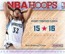 NBA 2015/2016 Panini Hoops Basketball Hobby Trading Cards 1 Pack