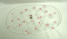 Walther Glas Cherry Blossom Oblong Tray Platter Vintage S9141