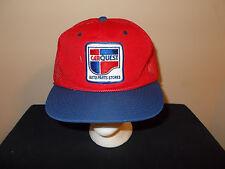 VTG-1980s Car Quest Auto Parts Store NASCAR sponsor racing snapback hat sku21