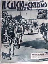 IL Calcio Illustrato 17/05/1951 Giro d' Italia Magni Coppi Bevilacqua   [GS35]
