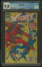 X FORCE 11 CGC 9.8 6/92 1ST APP OF REAL DOMINO NEENA THURMAN NEWSSTAND
