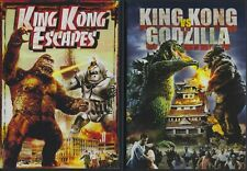 King Kong vs Godzilla & King Kong Escapes (Dvds) Excellent Condition