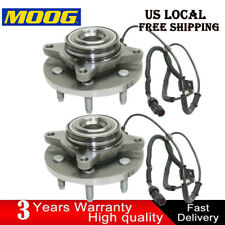(2) Moog Front Wheel Bearing & Hub Assembly for 2009 2010 Ford F-150 2WD W/ABS