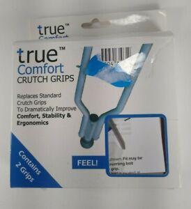 True Comfort Crutch Grips replaces standard crutch grips PINK Ergonomic